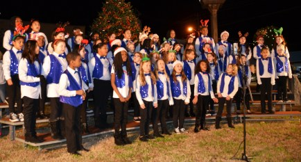 The Benson Elementary School Choir was the opening act for Friday night's Benson Christmas on Main. The choir showcased their event just a few minutes ahead of the annual tree lighting and parade.