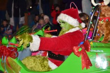 The Grinch had his Christmas spirit renewed just in time to join the Benson Christmas Parade Friday night. The parade was a part of the town's Christmas on Main Celebration which also included the annual tree lighting ceremony ahead of the parade.