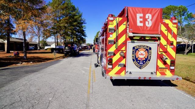 Fire - Barbour Road, 12-04-18-1JP