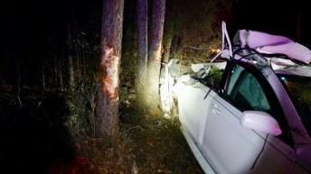 Accident - Crockers Nub Road 01-07-19-3JP
