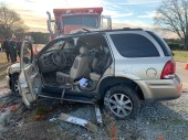 Accident - NC96, Live Oak Church Road, 01-10-19-1JT