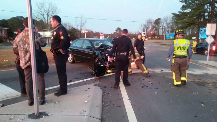 Accident - US301, I-95 Four Oaks 01-08-19-1ML