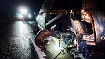 Accident - US70 Selma Flyover 01-07-19-3JP