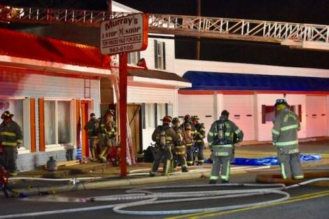 Fire - E Wellons Street, Murrays Pawn Shop 01-30-19-7JT