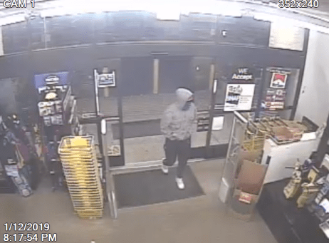 Dollar General armed robbery on January 12th in Bunnlevel.