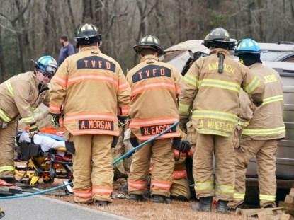 Accident - Branch Chapel Road, 02-22-19-3JP