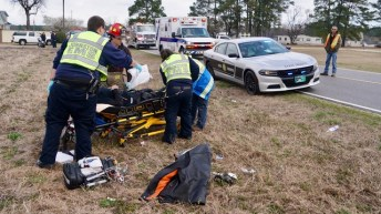 Accident - NC242 South, 02-27-19-2JP