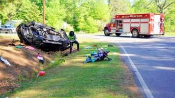 Accident - NC42 East, Creech Church Road, 04-24-19-3JP