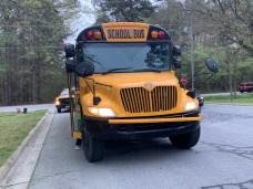 Accident - School Bus, Booker Dairy Road, 04-09-19-2JP