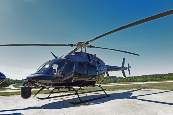 Oklahoma Highway Patrol Tactical Helicopter - Year of Clean