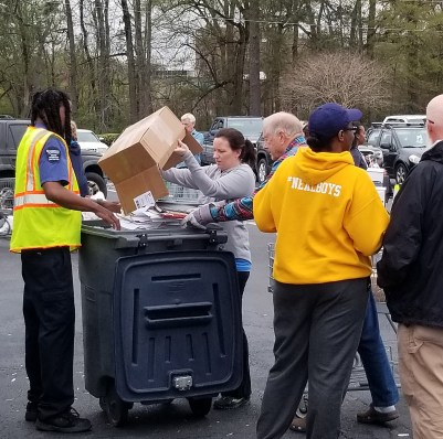 Over 10 Tons Of Documents Safely Disposed Of At Annual Shred Event