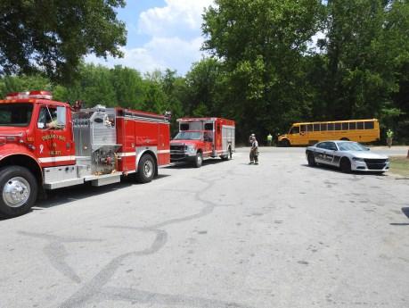 Accident - Bus US701, Stewart Road, 05-30-19-13ML