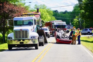 Accident - Fire Department Road, 05-07-19-1JP