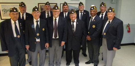 American Legion Post 71 - New Officers - 07-16-19CP