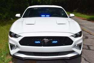 This Ford Mustang GT unmarked patrol car was added to the Johnston County Sheriff's Office fleet in Aug. 2018 and assigned to the SAFE Team. File photo
