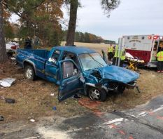 Accident - Sheriff Johnson Road 11-26-19-2CP