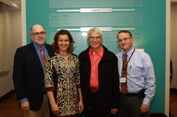 Left to right: Benson Area Medical Center CEO, William Massengill; State Health Director, Dr. Betsey Tilson; BAMC Board Chairman, Sonny Surles; BAMC Medical Director, Dr. Eugene H. Maynard