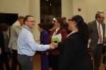 BAMC – Dr Maynard greeting guests 11-22-19-6CP