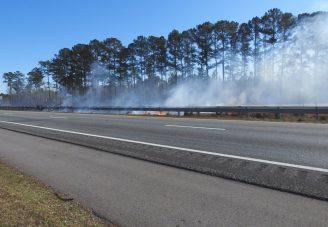 Grass Fire - I95 Smithfield 01-21-20-1ML