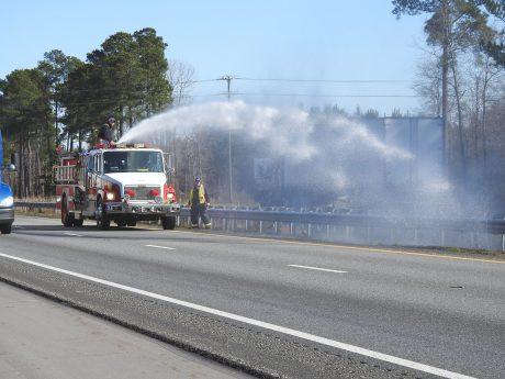 Grass Fire - I95 Smithfield 01-21-20-4ML