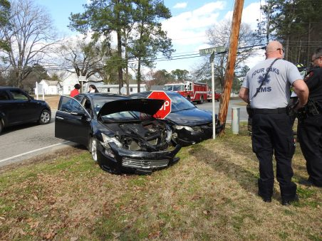 Accident - Main, Allen Street, Four Oaks 02-28-20-1ML