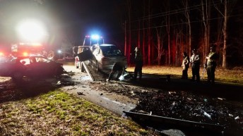 Fatal - NC 42 East, Thanksgiving Fire Road 02-05-20-4JP