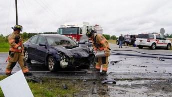 Accident - Little Creek Church Road, Pony Farm Road, 04-21-20-5JP