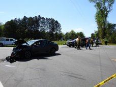 Accident - NC50, Eldridge Road 04-10-20-2ML