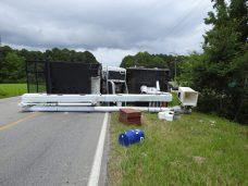 Accident - Utility Truck, US70 E, 06-19-20-6ML