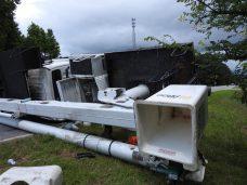 Accident - Utility Truck, US70 E, 06-19-20-7ML