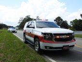 Accident - Utility Truck, US70 E, 06-19-20-9ML