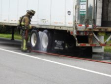 Fire - Tractor Trailer I-95, Keen Road, 07-13-20-5ML