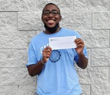 Christopher Everett will be attending UNC Chapel Hill this fall.