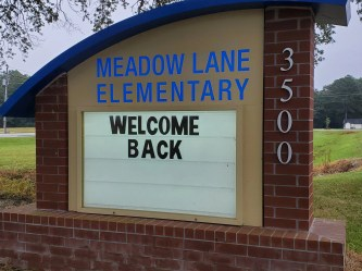 Meadow Lane Elementary School in Goldsboro.