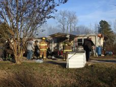 Fire - Mobile Home, NC 96 South, 12-28-20-4M