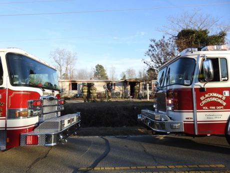 Fire - Mobile Home, NC 96 South, 12-28-20-6M