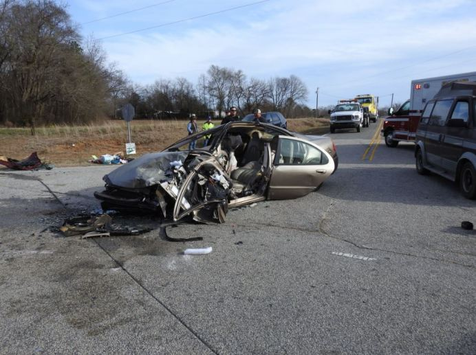 Accident - NC 96, Heath Road 01-22-21-9M