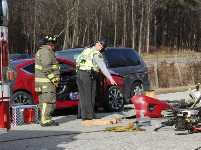 Accident - NC96, Heath Road 01-22-21-3M