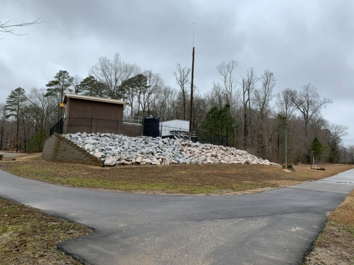 Clayton Water Reclamation Facility at sams branch 02-02-21-2C