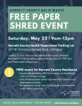 Harnett Shred Event Flyer 03-12-21C