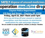 Operation Medicine Drop Clayton PD 04-23