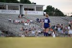 bleachers at soccer game – Raleigh