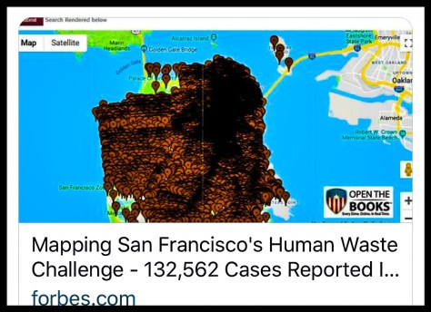 The San Francisco Poop Map Your Opportunity Awaits Jocularious Com