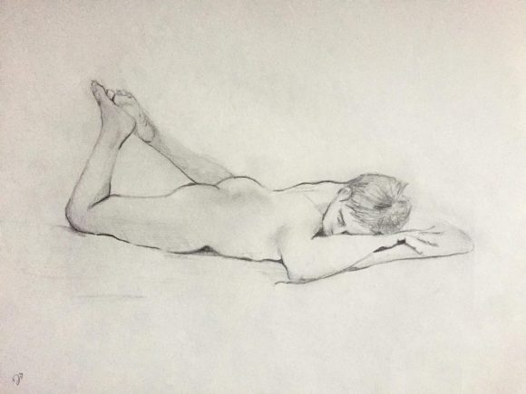 Figure Drawing Study - Warren