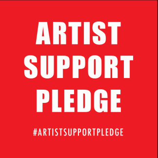 Artists supporting artists
