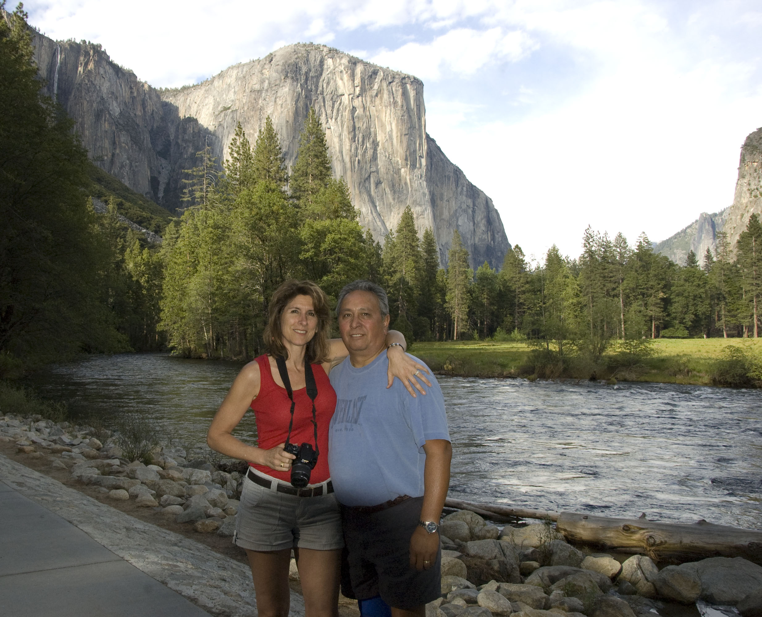 One of my husband and my trips to Yosemite