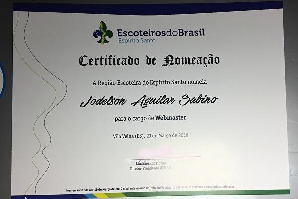 Webmaster Certificate