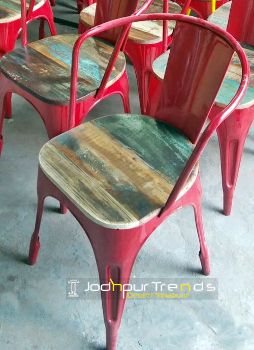 Red Bistro Chair | Commercial Restaurant Dining Chairs