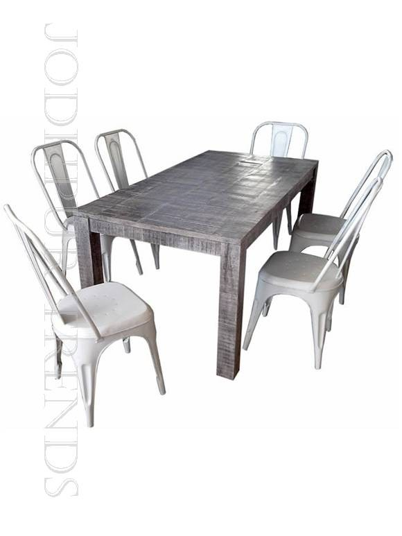 Distressed Dining Set | Cafe Table And Chairs Set