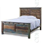 Hand Crafted Reclaimed Bed   Handmade Hotel Furniture